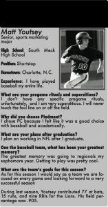 Leading Lions Piedmont Baseball