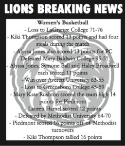 Lions Breaking News