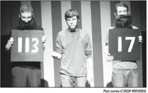 Theatre's three stooges