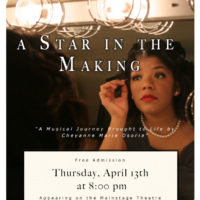 "Osoria to present capstone, ""A Star in the Making"""